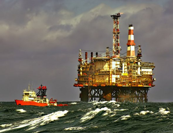 The Magnus Platform is in the northern UK sector of the North Sea, about 100 miles north-east of the Shetland Islands. At the time of it's construction at Nigg, Scotland, the jacket was the largest (by weight) steel jacket ever built at 40,000 tons. For many years it was BP's single biggest asset worldwide.